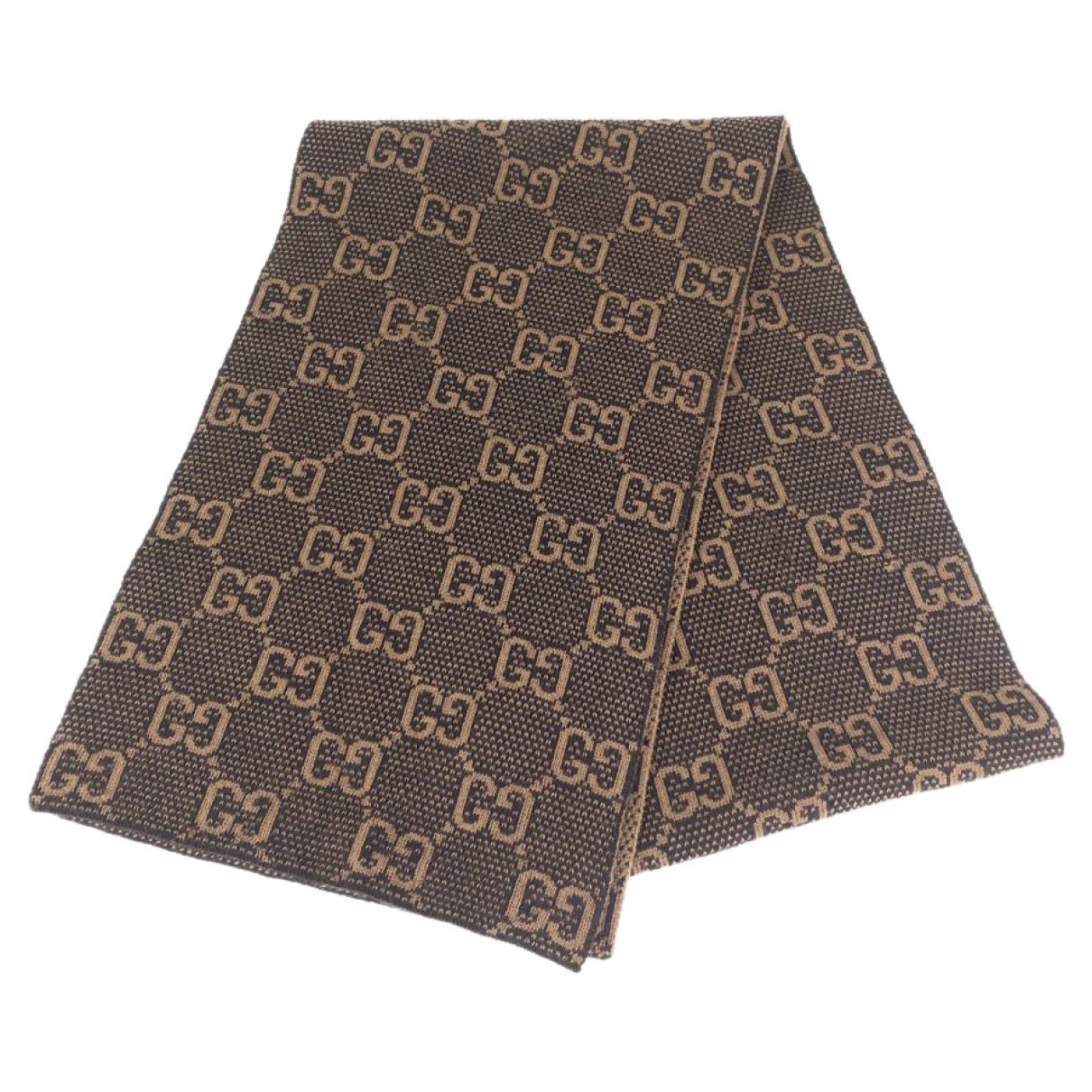 Gucci \N Wool scarf & pocket squares for Men \N