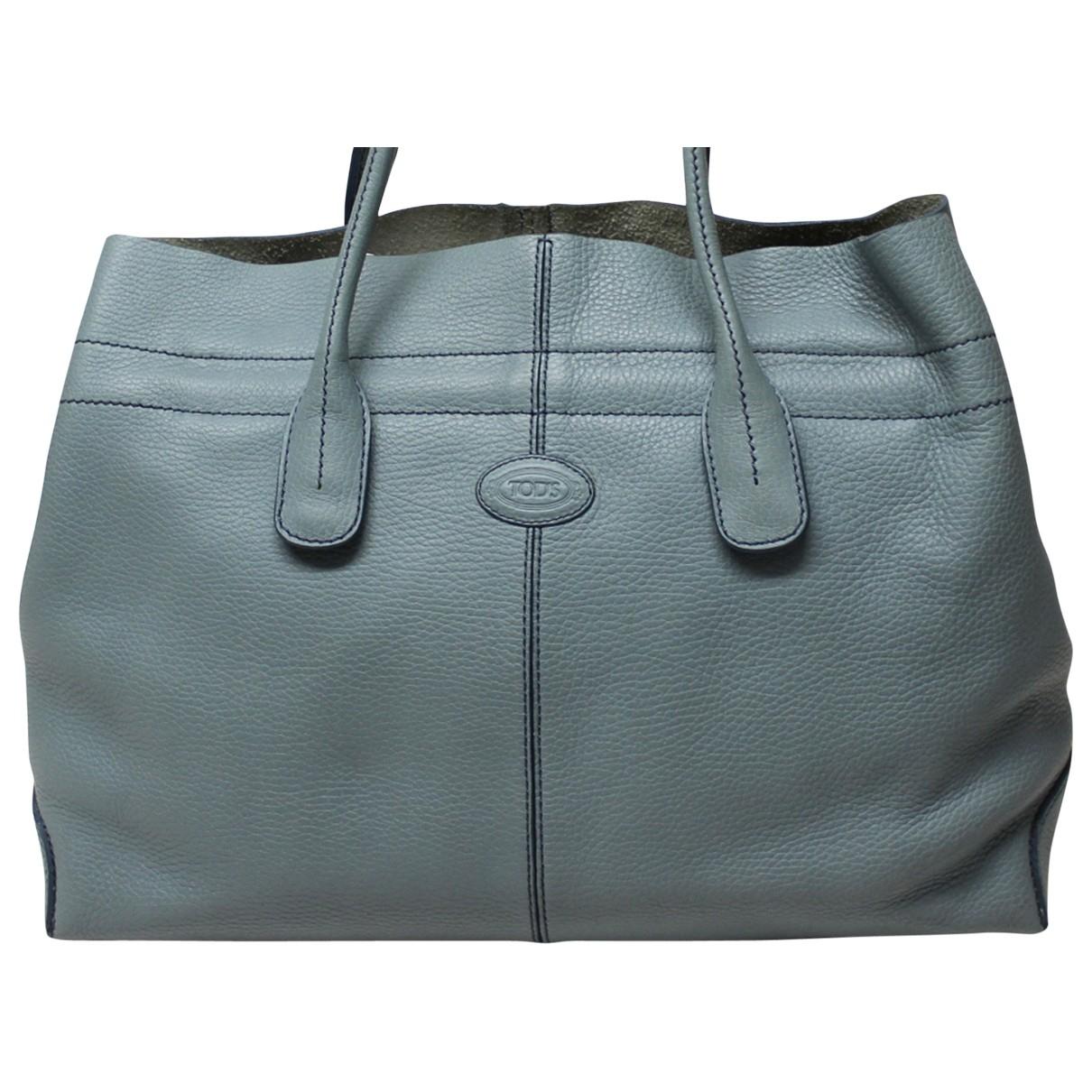 Tod's \N Leather handbag for Women \N
