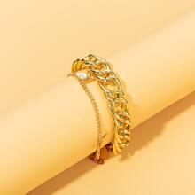 Butterfly Tassel Chain Bracelet