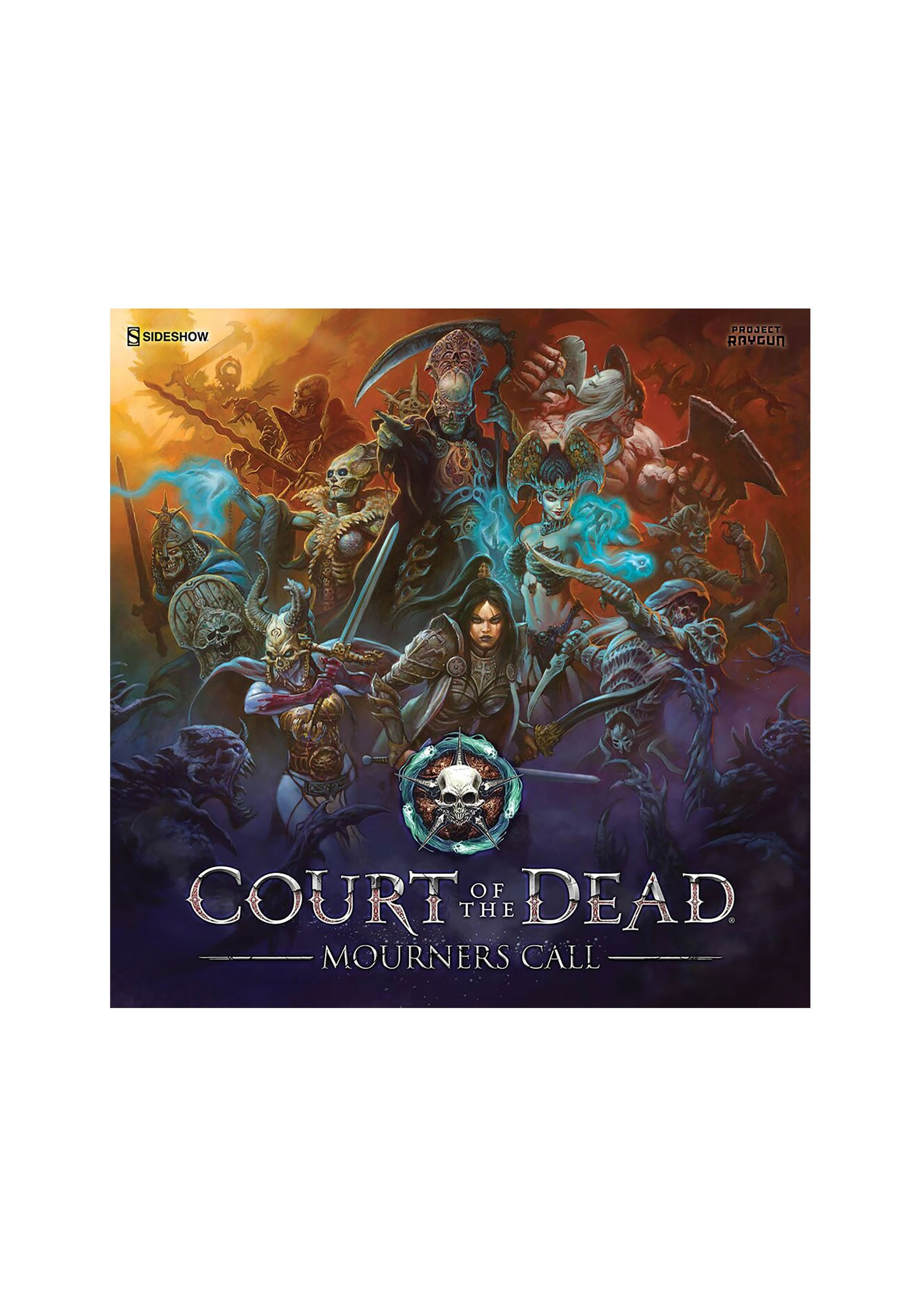 Strategy Board Game Court of the Dead: Mourners Call