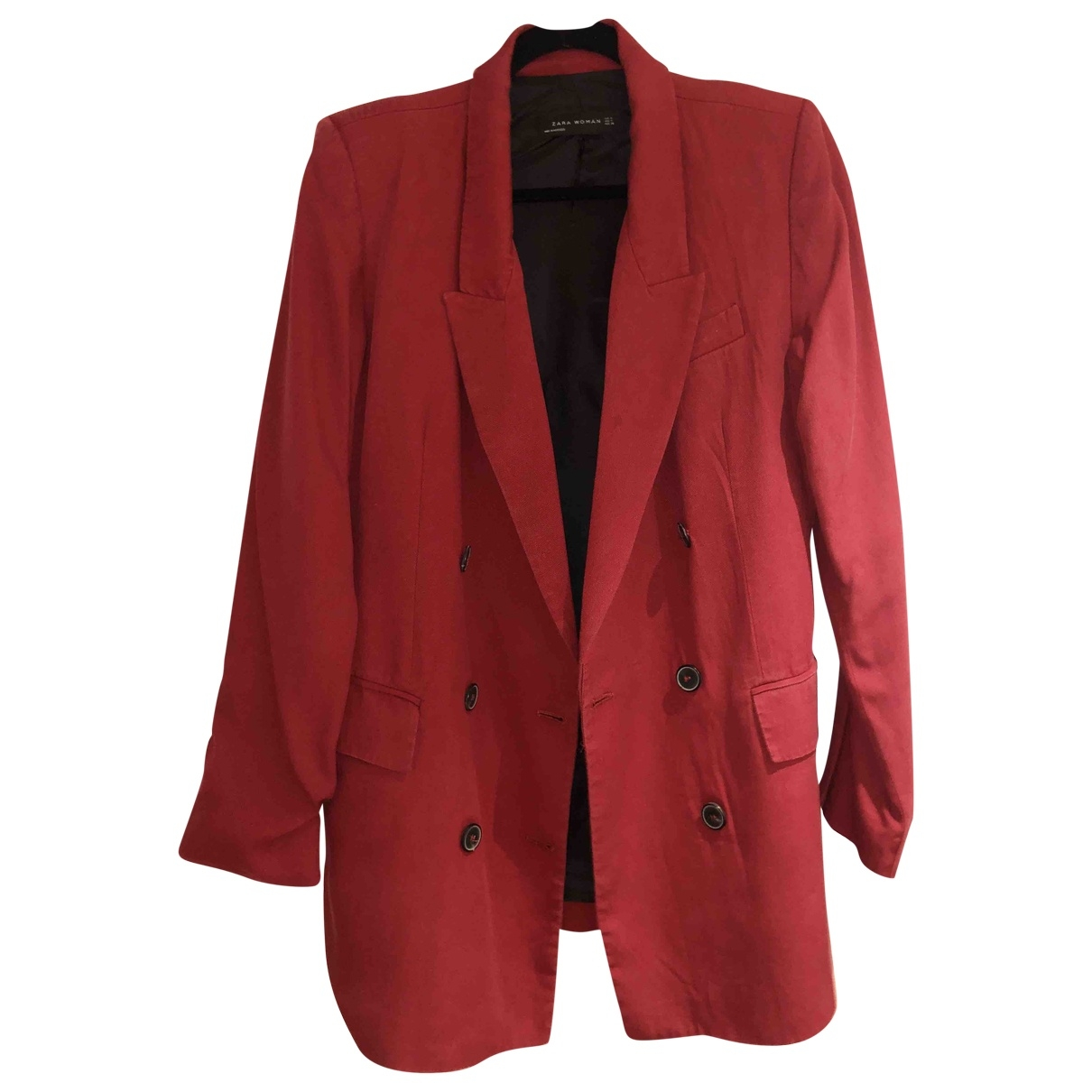 Zara \N Red Cotton jacket for Women M International