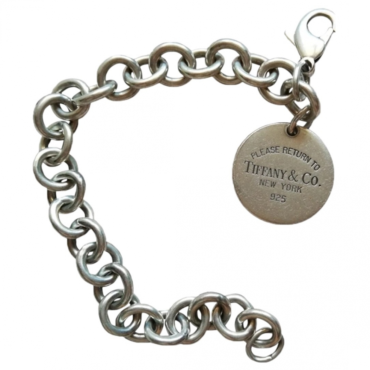Pulsera Return to Tiffany de Plata Tiffany & Co