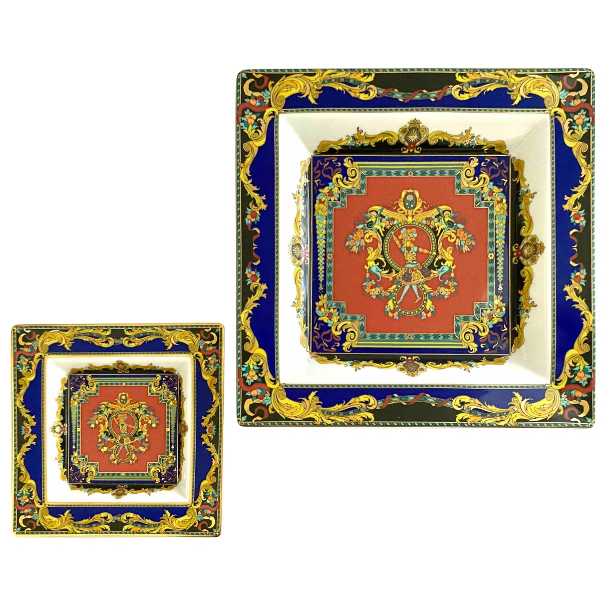 Versace \N Multicolour Porcelain Home decor for Life & Living \N