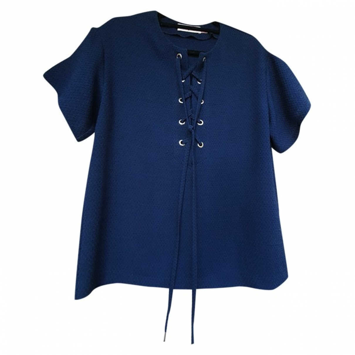 See By Chloe \N Top in  Marine Polyester