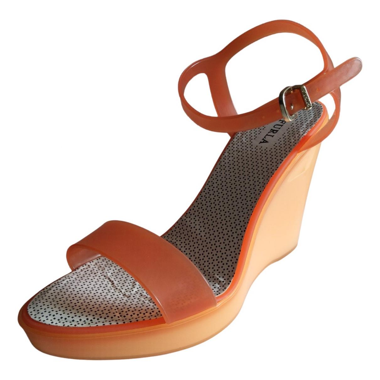 Furla \N Sandalen in  Orange Kunststoff