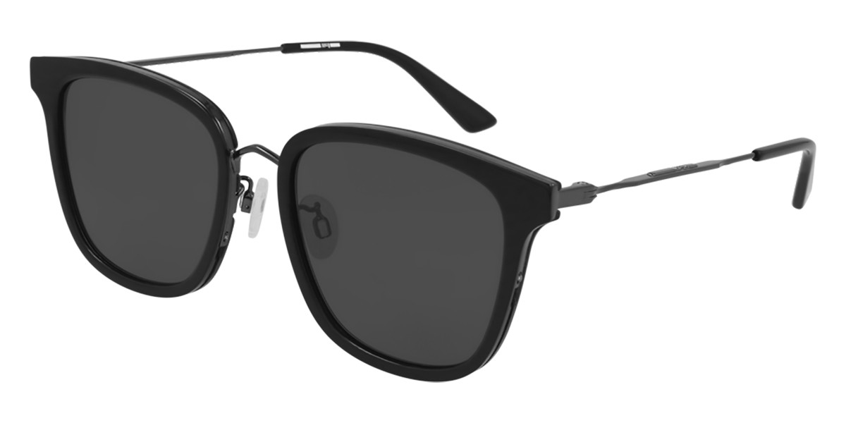 McQ MQ0279SA Asian Fit 001 Women's Sunglasses Black Size 55 - Free RX Lenses