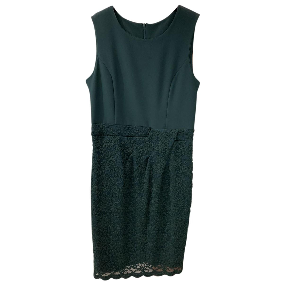 Non Signé / Unsigned N Green dress for Women XL International