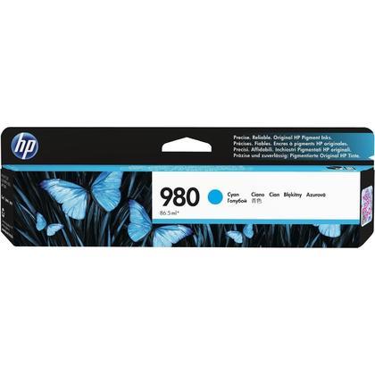 HP 980 D8J07A Original Cyan Ink Cartridge