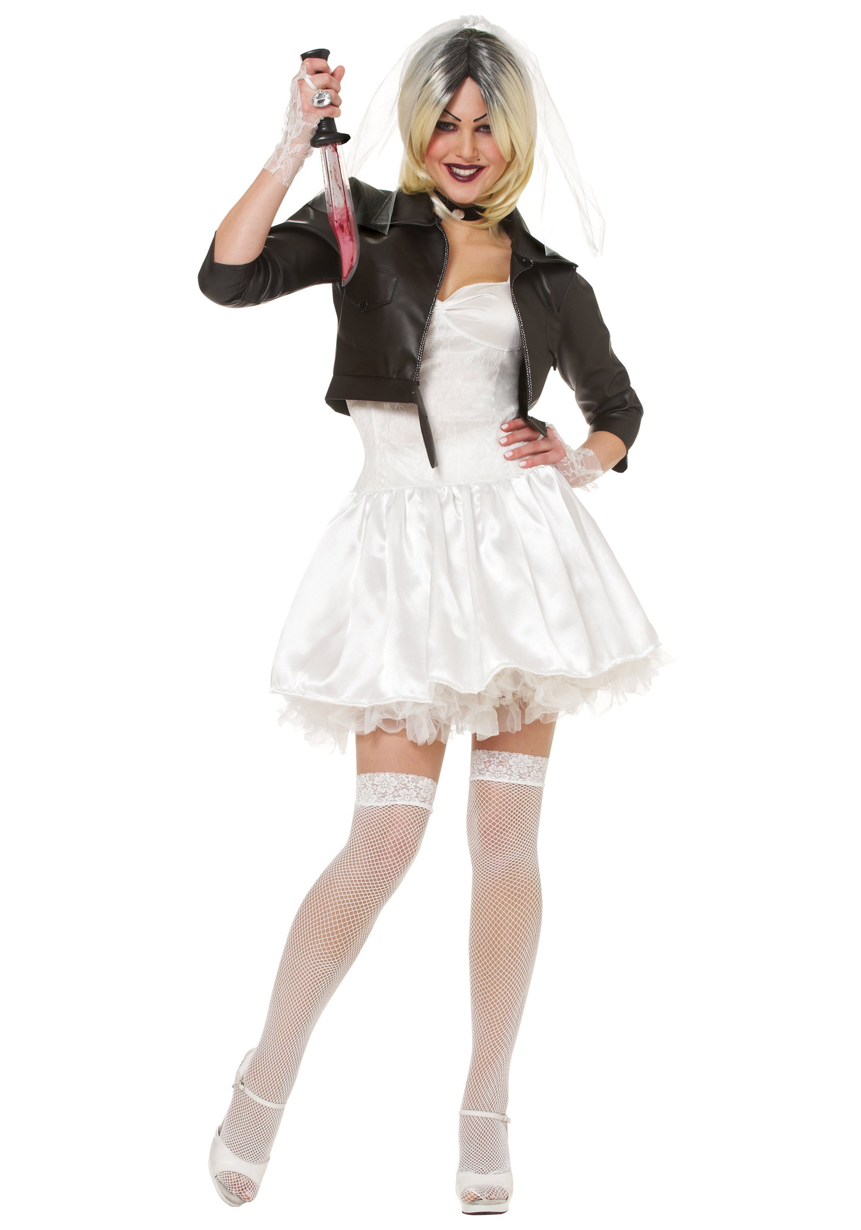 Sexy Bride of Chucky Costume | Chucky and Tiffany Halloween Costume