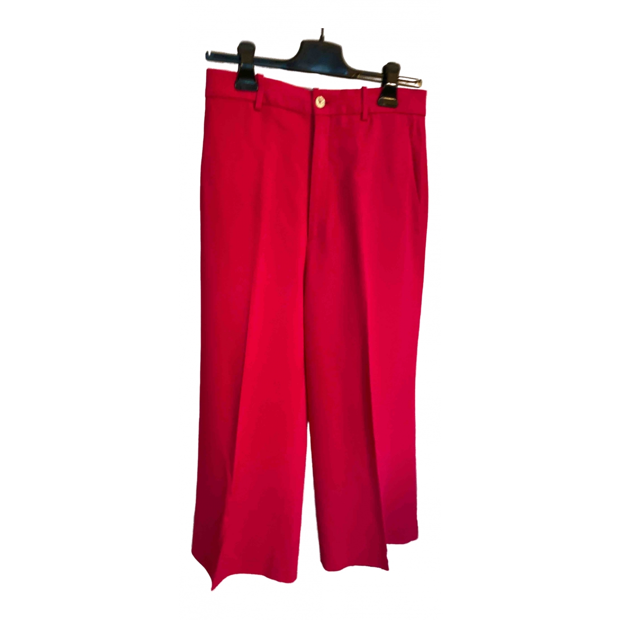 Gucci \N Pink Trousers for Women 44 IT