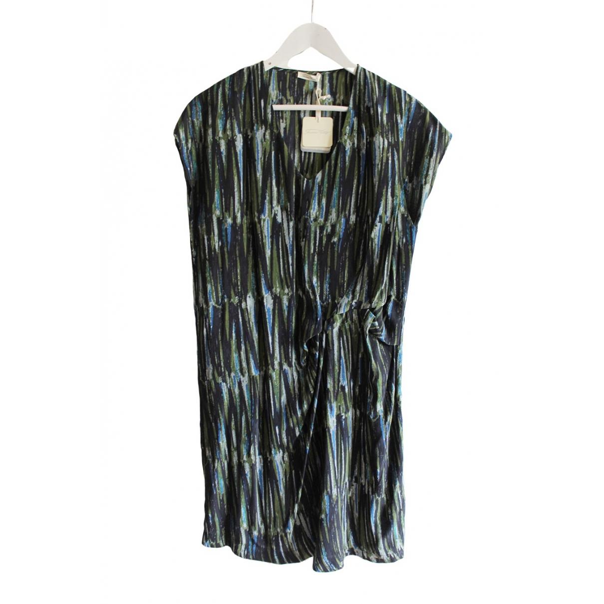 American Vintage \N Kleid in  Khaki Seide