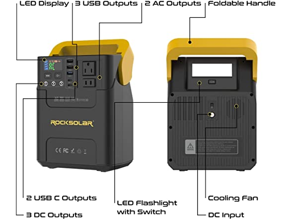 Rocksolar 100w Portable Power Station