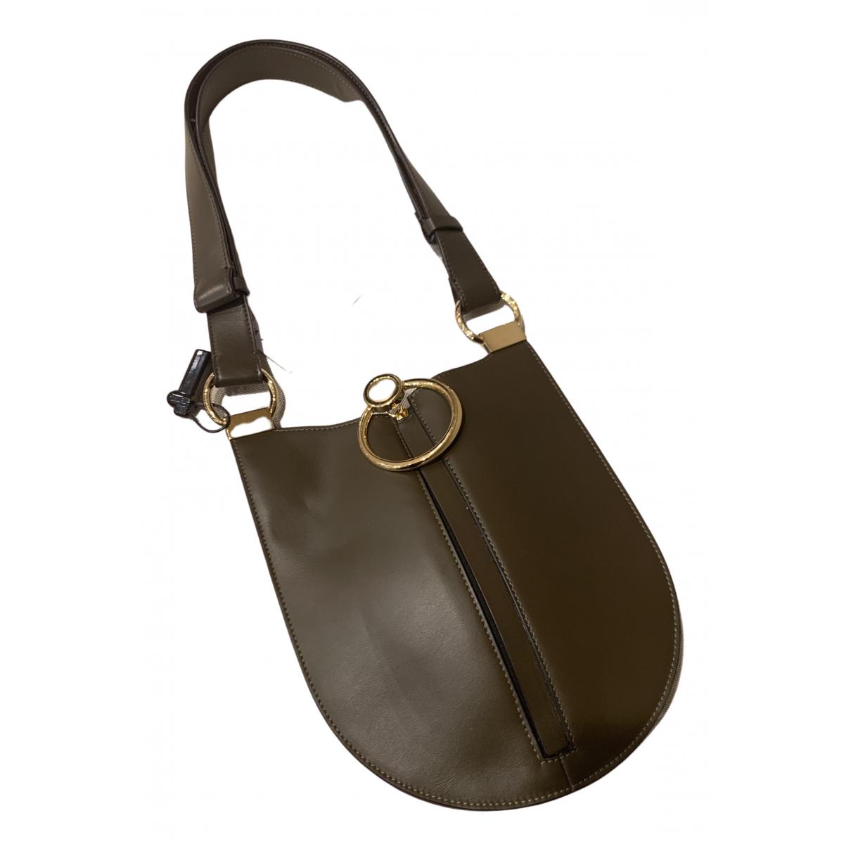 Marni N Khaki Leather handbag for Women N