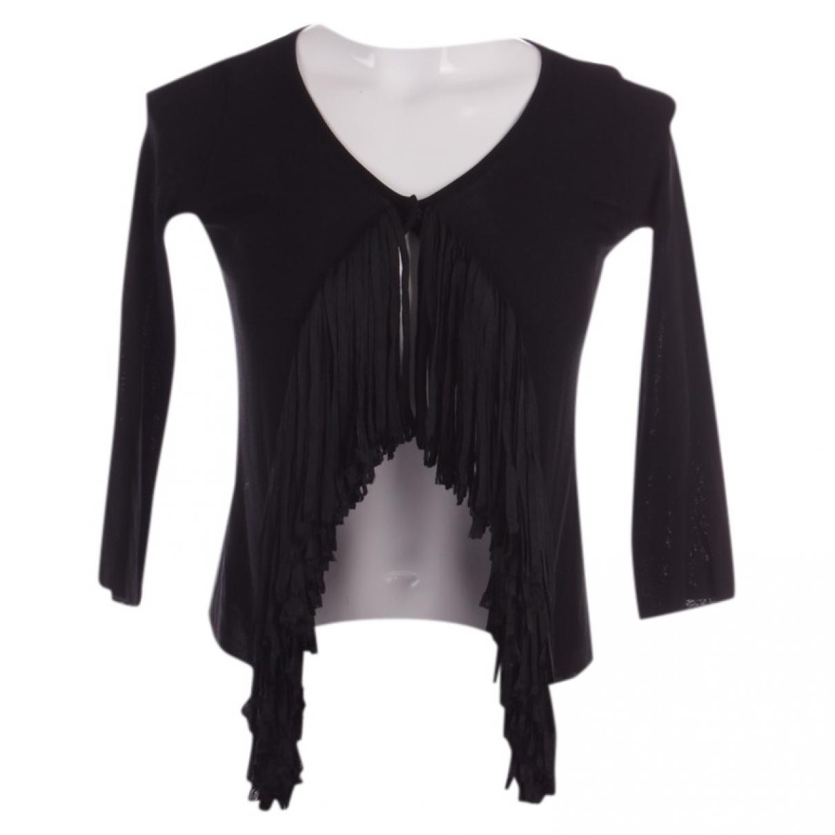 Plein Sud - Pull   pour femme en coton - noir