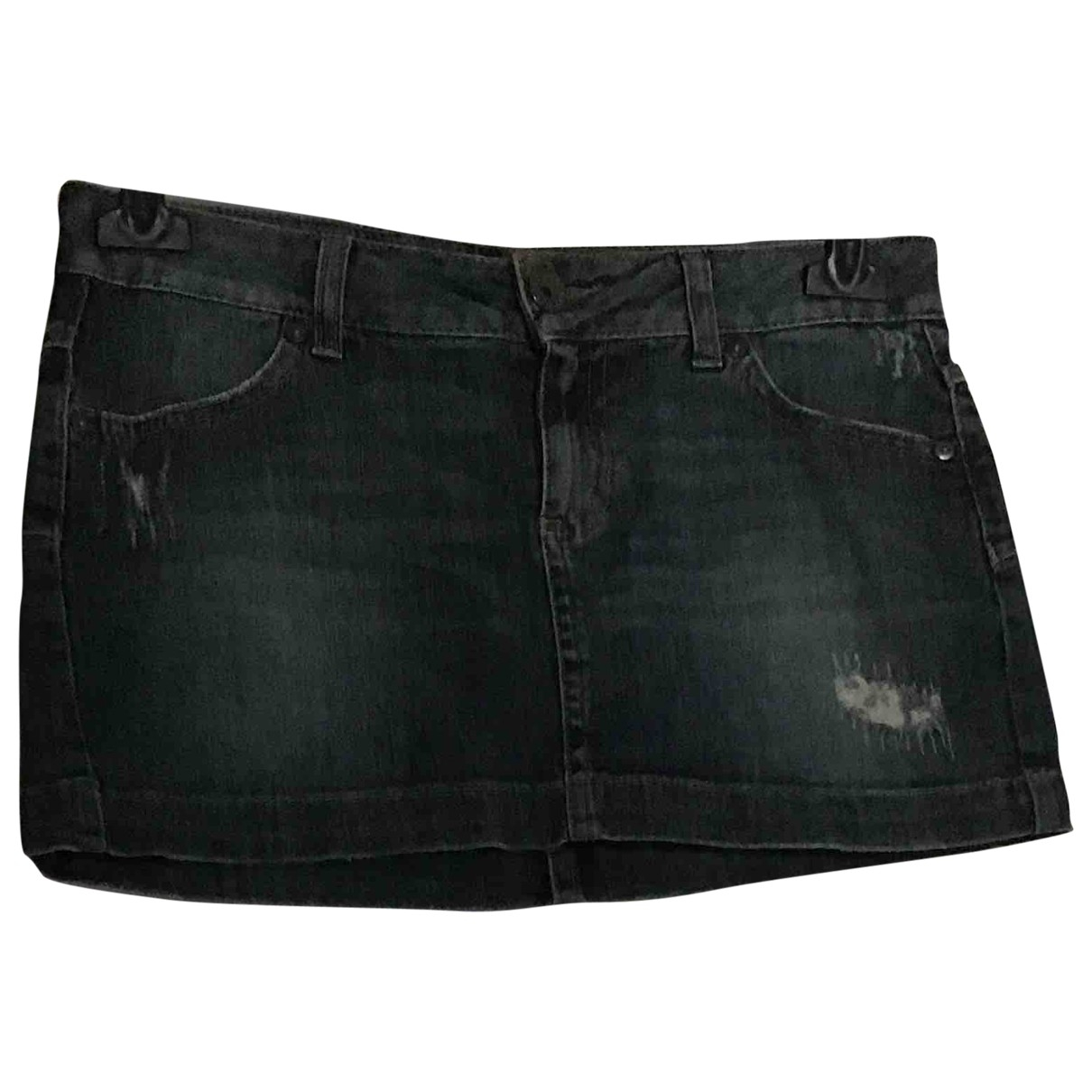 Non Signe / Unsigned \N Rocke in  Blau Denim - Jeans