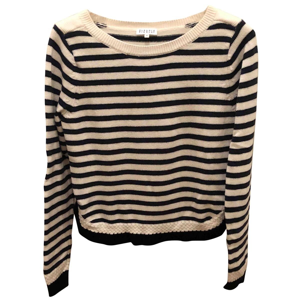 Claudie Pierlot \N Pullover in  Marine Wolle
