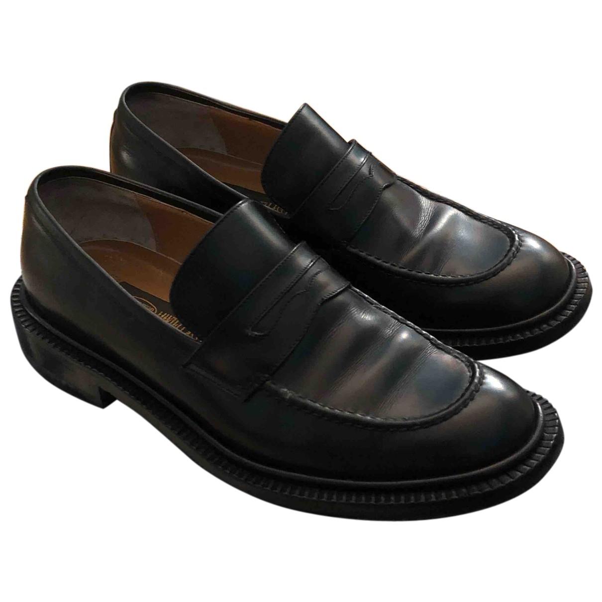 Sutor Mantellassi N Black Leather Flats for Women 35.5 EU