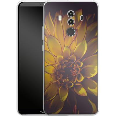 Huawei Mate 10 Pro Silikon Handyhuelle - Yellow Dahlia von Joy StClaire