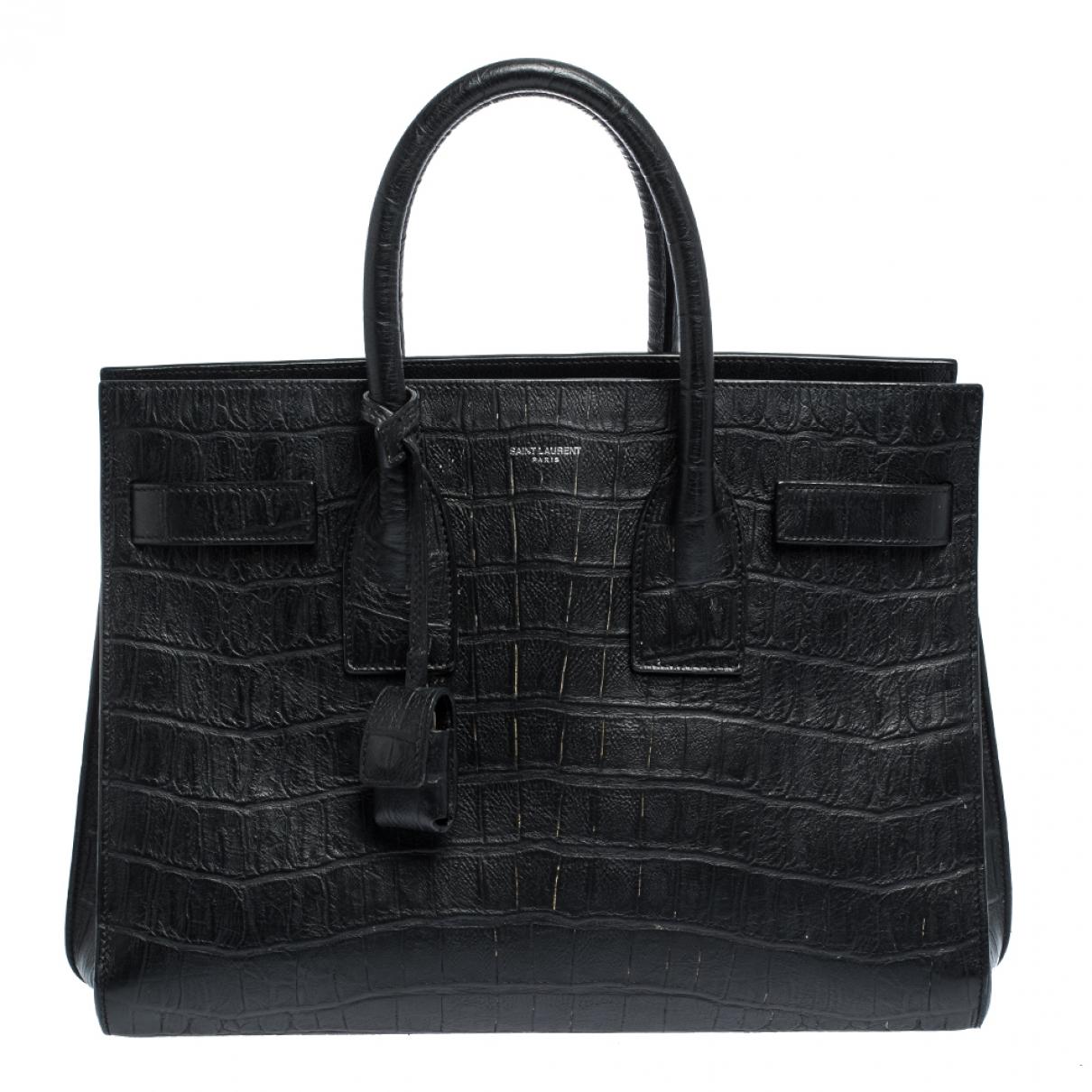 Saint Laurent Sac de Jour Beige Leather handbag for Women \N