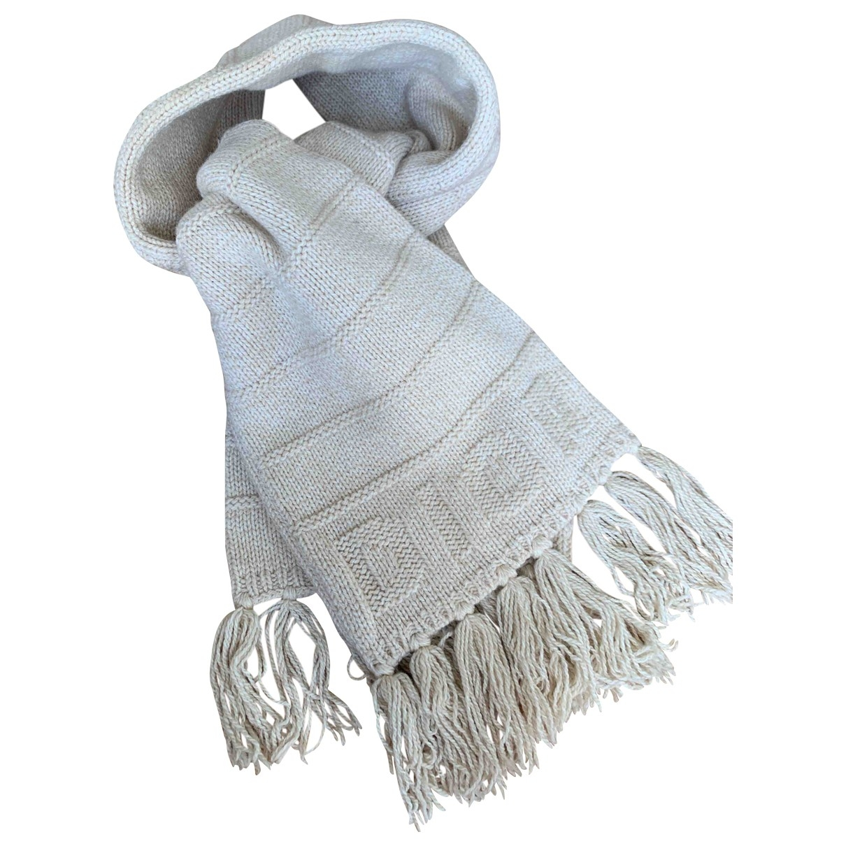 Baby Dior \N Halstuecher, Schal in  Beige Wolle