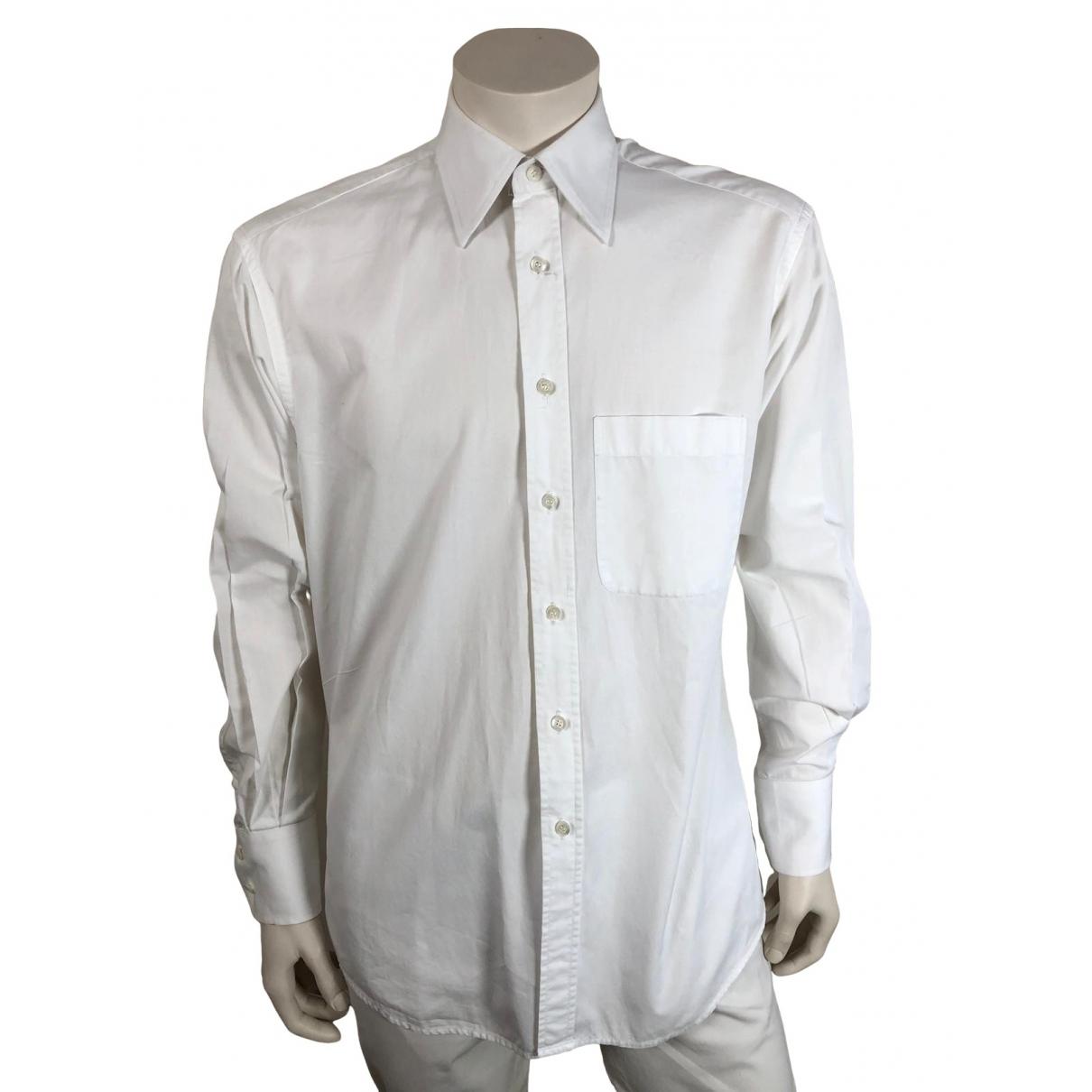 Gucci - Chemises   pour homme en coton - blanc