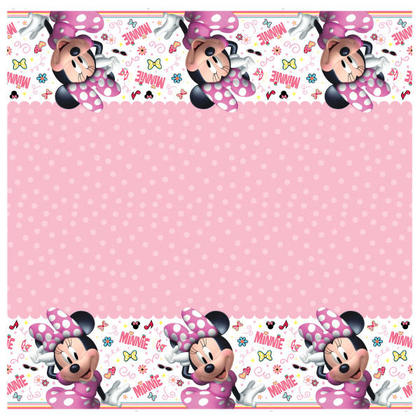 Minnie Mouse 1 Plastic Tablecover 54