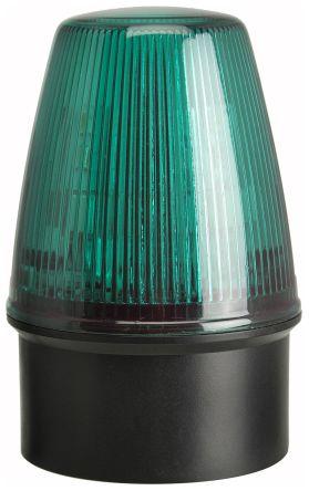Moflash LED100 Green LED Beacon, 40 → 380 V dc, 85 → 285 V ac, Flashing, Surface Mount, Wall Mount