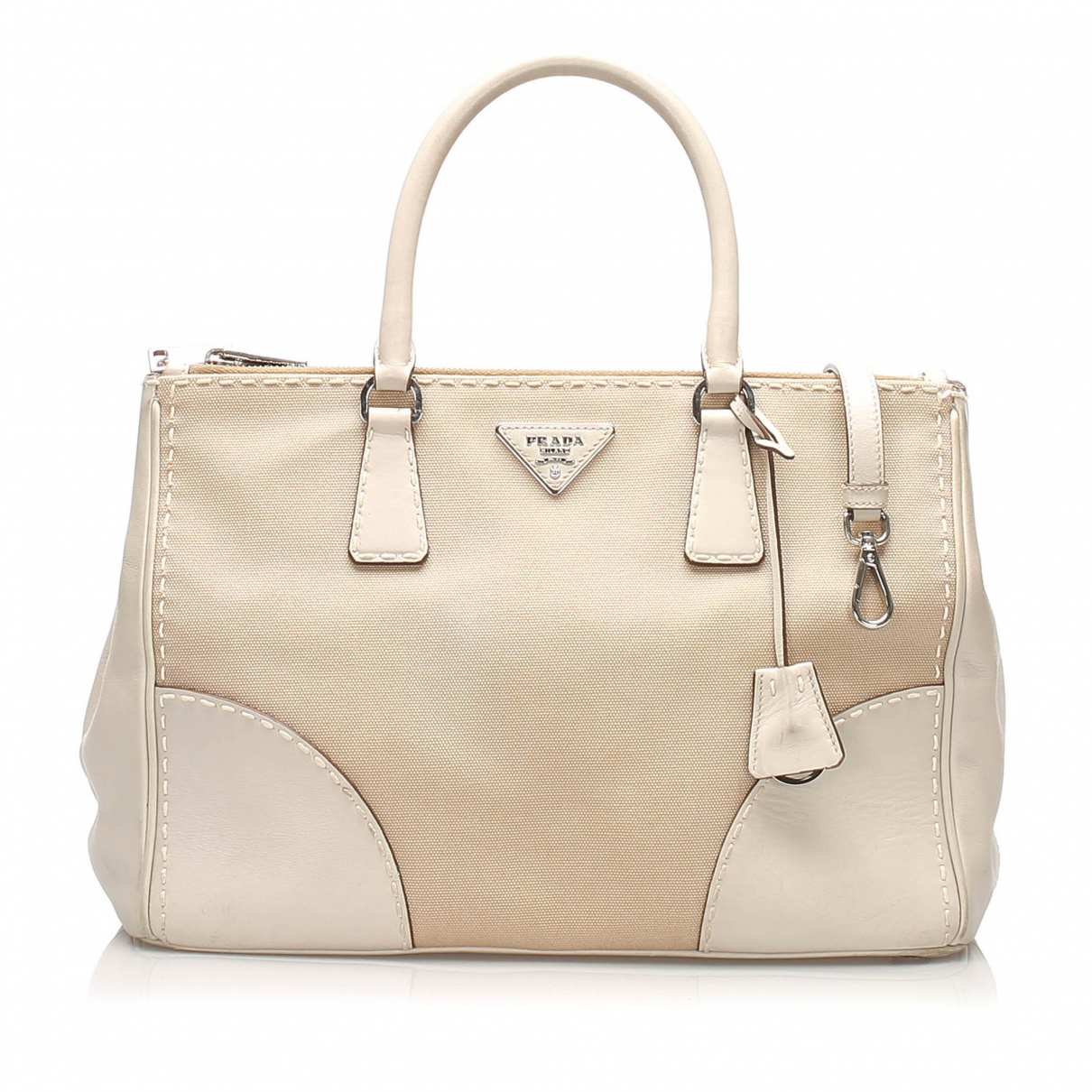Prada N Brown Cloth handbag for Women N