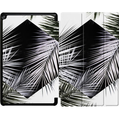 Amazon Fire HD 10 (2018) Tablet Smart Case - Palm Leaves 3 Geometry 2 von Mareike Bohmer