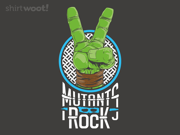 Mutants Rock T Shirt