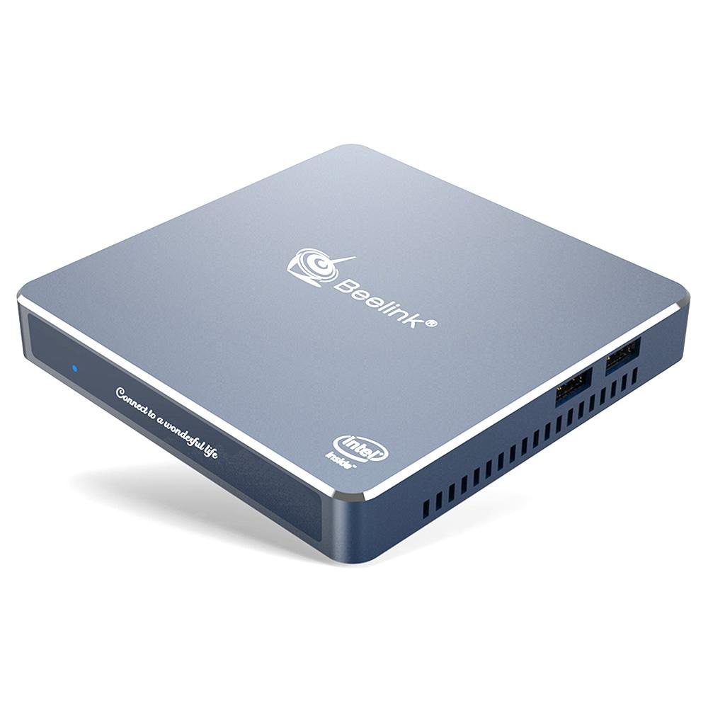 Beelink GEMINI M Windows10 Mini PC Gemini Lake-R J4125 Quad Core 4GB RAM 64GB eMMC 2.4G+5G WIFI Dual HDMI USB*4