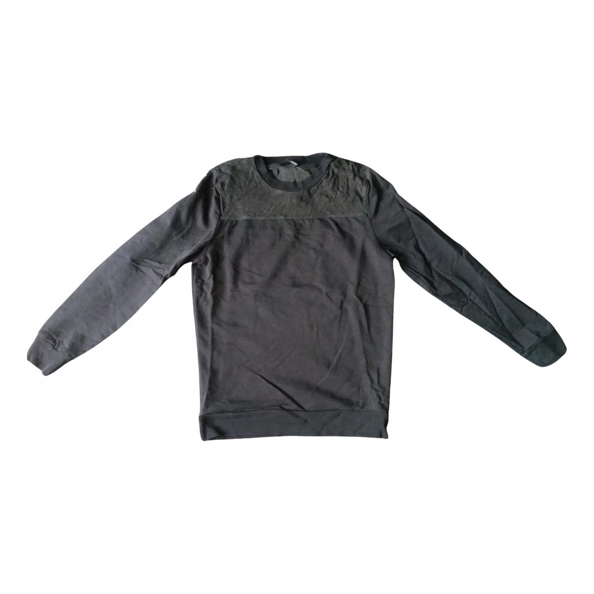Cos \N Pullover.Westen.Sweatshirts  in  Schwarz Baumwolle