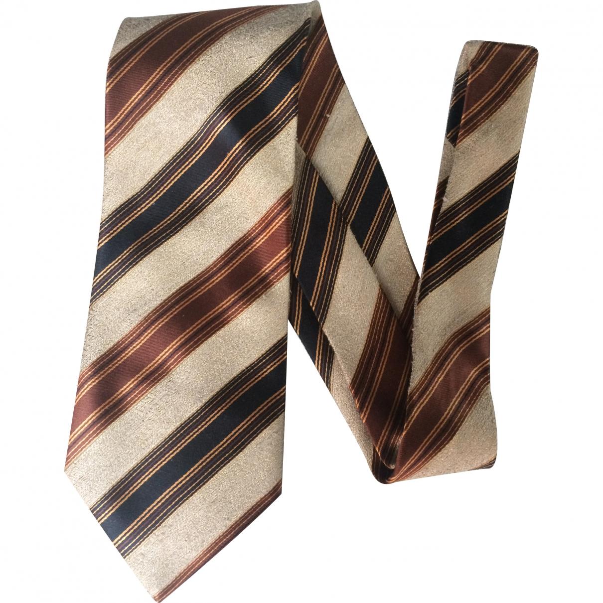 Gianfranco Ferre - Cravates   pour homme en soie - beige