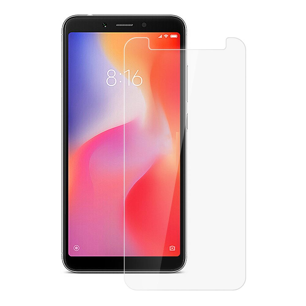 Makibes Tempered Glass Film For Xiaomi Redmi 6 0.33mm 9H 2.5D Explosion-proof Membrane - Transparent