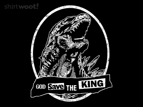 God Save The King T Shirt