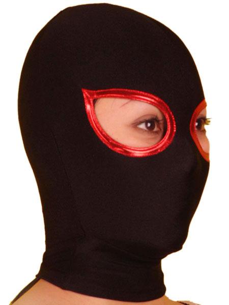 Milanoo Disfraz Halloween Mascara de lycra spandex de dos tonos Halloween