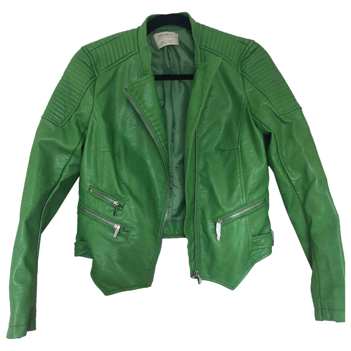 Zara - Veste   pour femme - vert