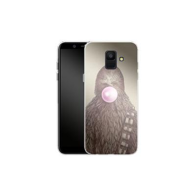 Samsung Galaxy A6 Silikon Handyhuelle - Big Chew von Eric Fan