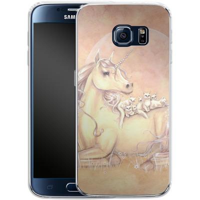Samsung Galaxy S6 Silikon Handyhuelle - Purrfect Friends von Selina Fenech
