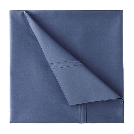 JCPenney Home Ultra Performance 575tc Sateen Deep Pocket Sheet Set, One Size , Blue