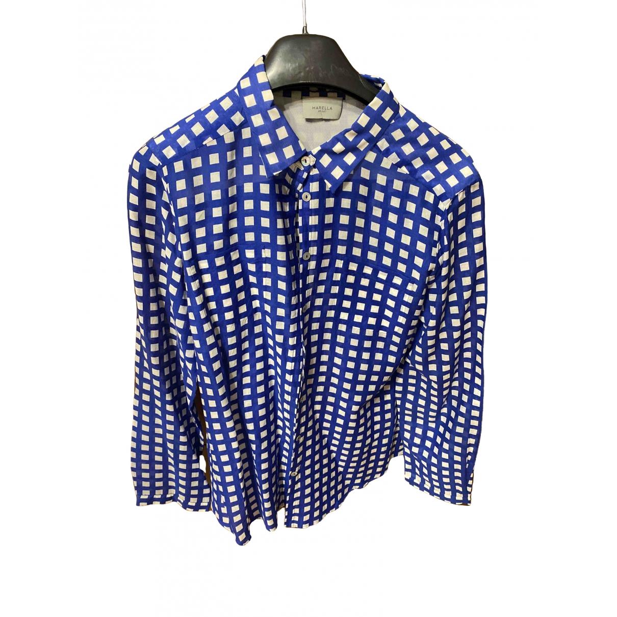 Marella \N Top in  Blau Baumwolle