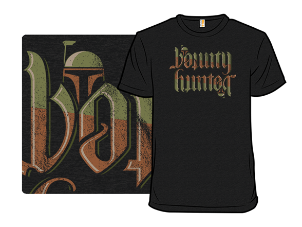 Bounty Hunter Mirror T Shirt