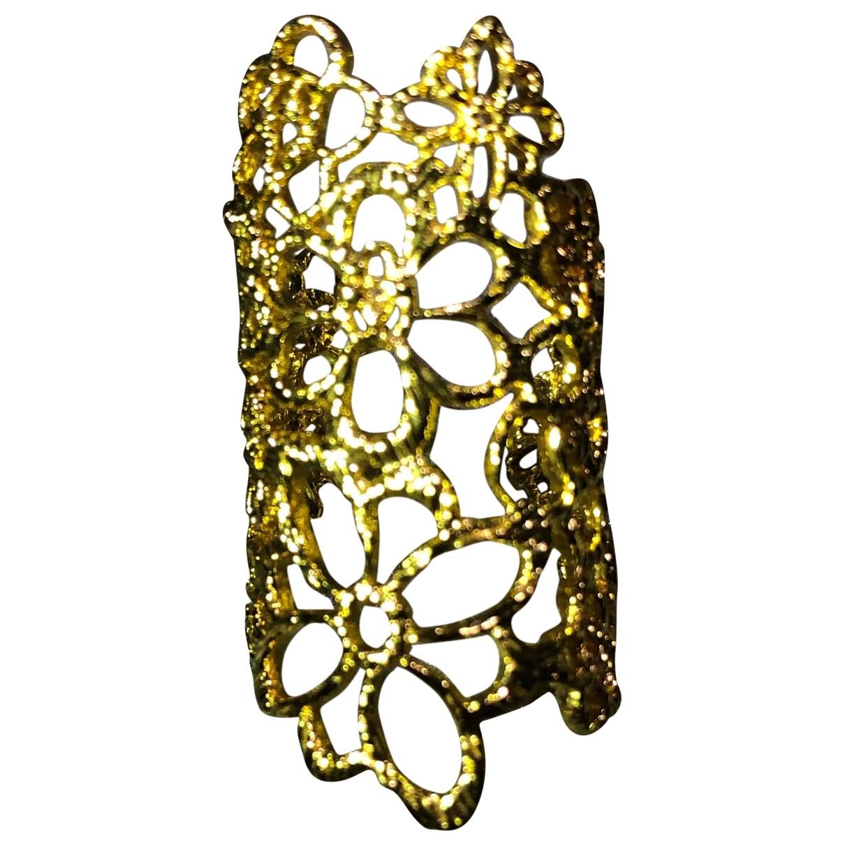 Les Nereides - Bague   pour femme en metal - dore