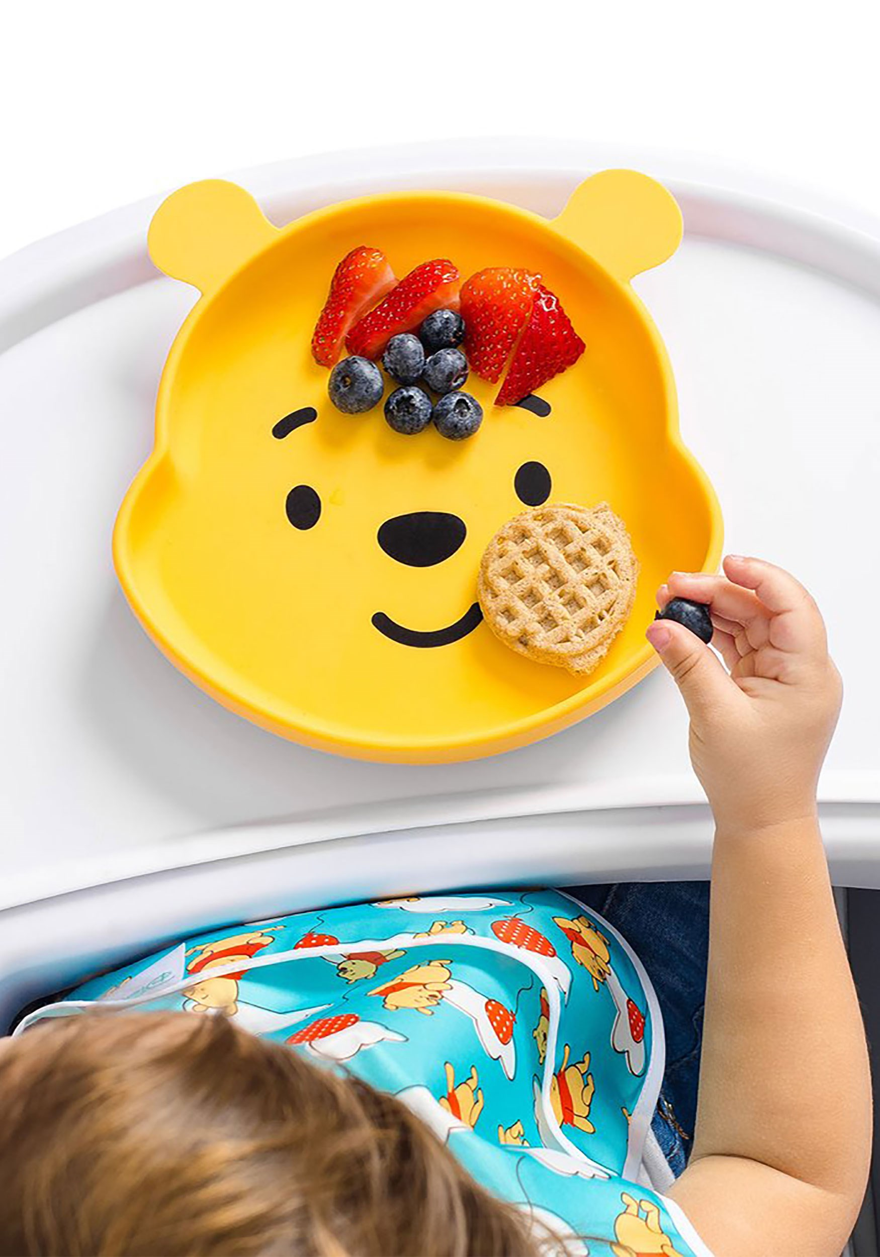 Silicone Winnie the Pooh Grip Snack Dish