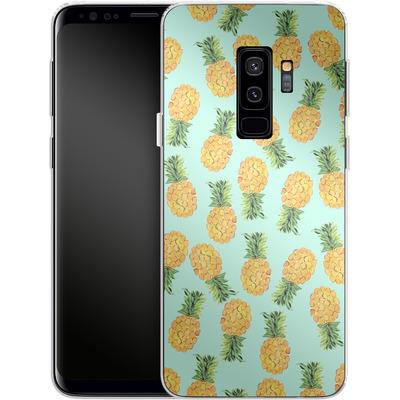 Samsung Galaxy S9 Plus Silikon Handyhuelle - Pineapple von Amy Sia