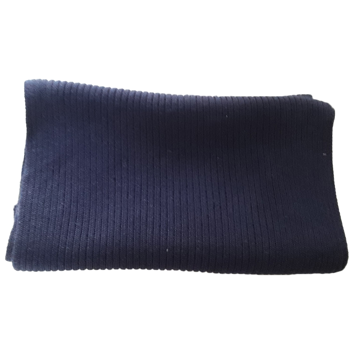 Prada \N Navy Wool scarf & pocket squares for Men \N