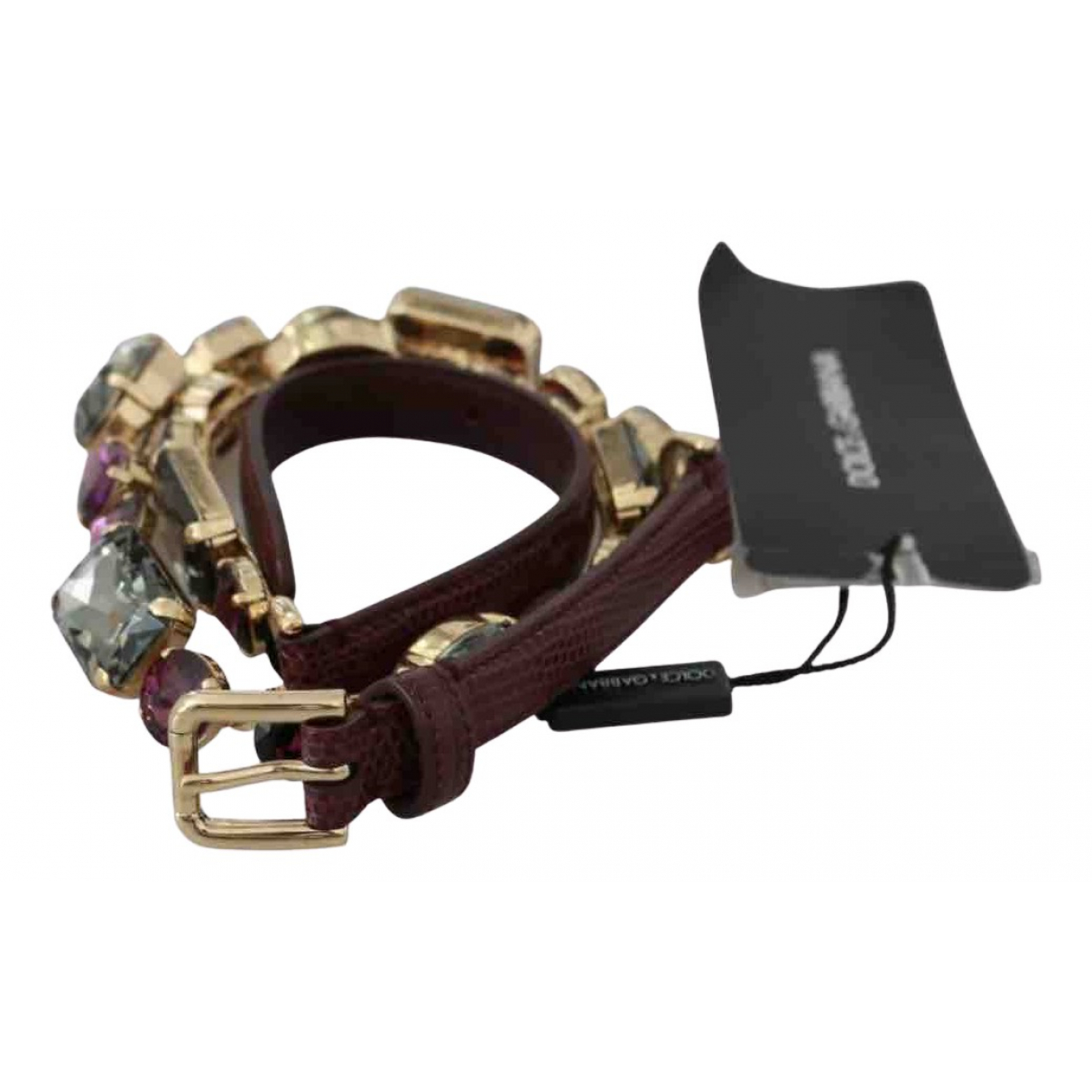 Dolce & Gabbana N Multicolour Leather belt for Women L International