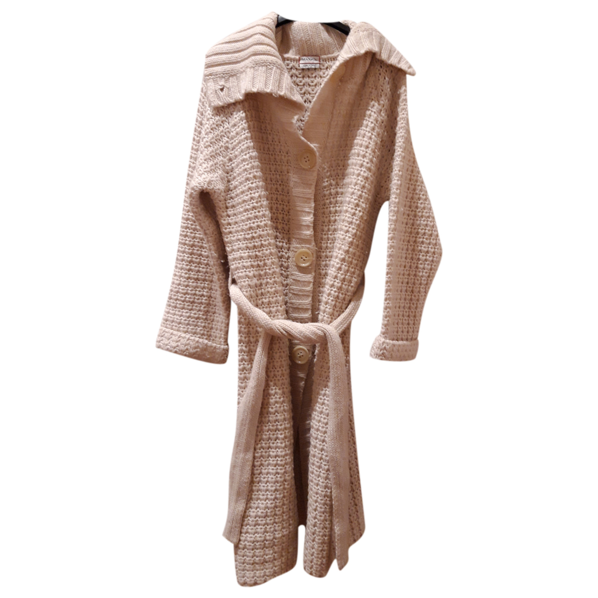 Max & Co N White Wool coat for Women 44 FR