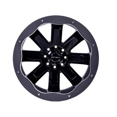Fab Fours Basik Wheel Rings (Black) - SL2404-1