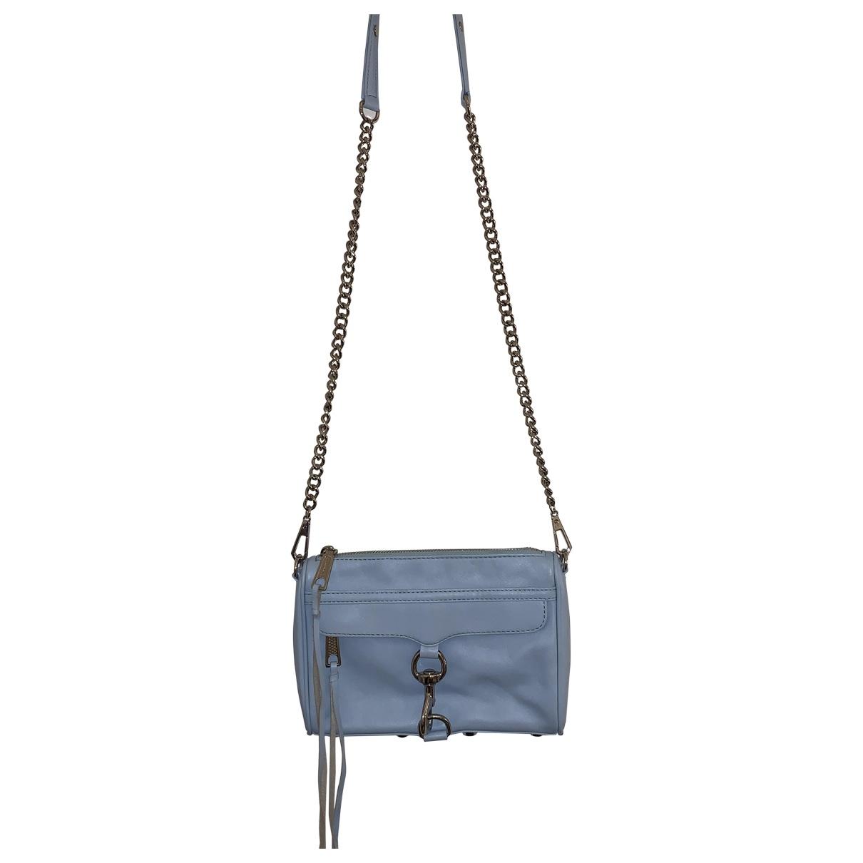 Rebecca Minkoff \N Handtasche in  Tuerkis Leder